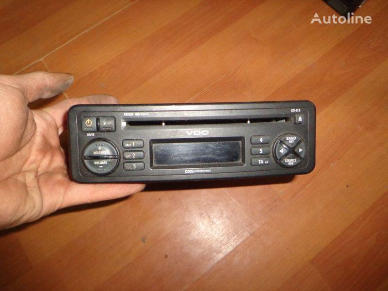 автомагнитола VDO CD413. 12V. CD. для грузовика