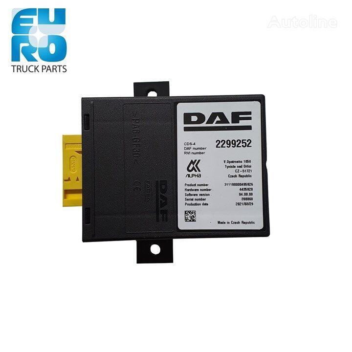 новый блок управления DAF Elektronische regeleenheid (CDS 2299252) для тягача
