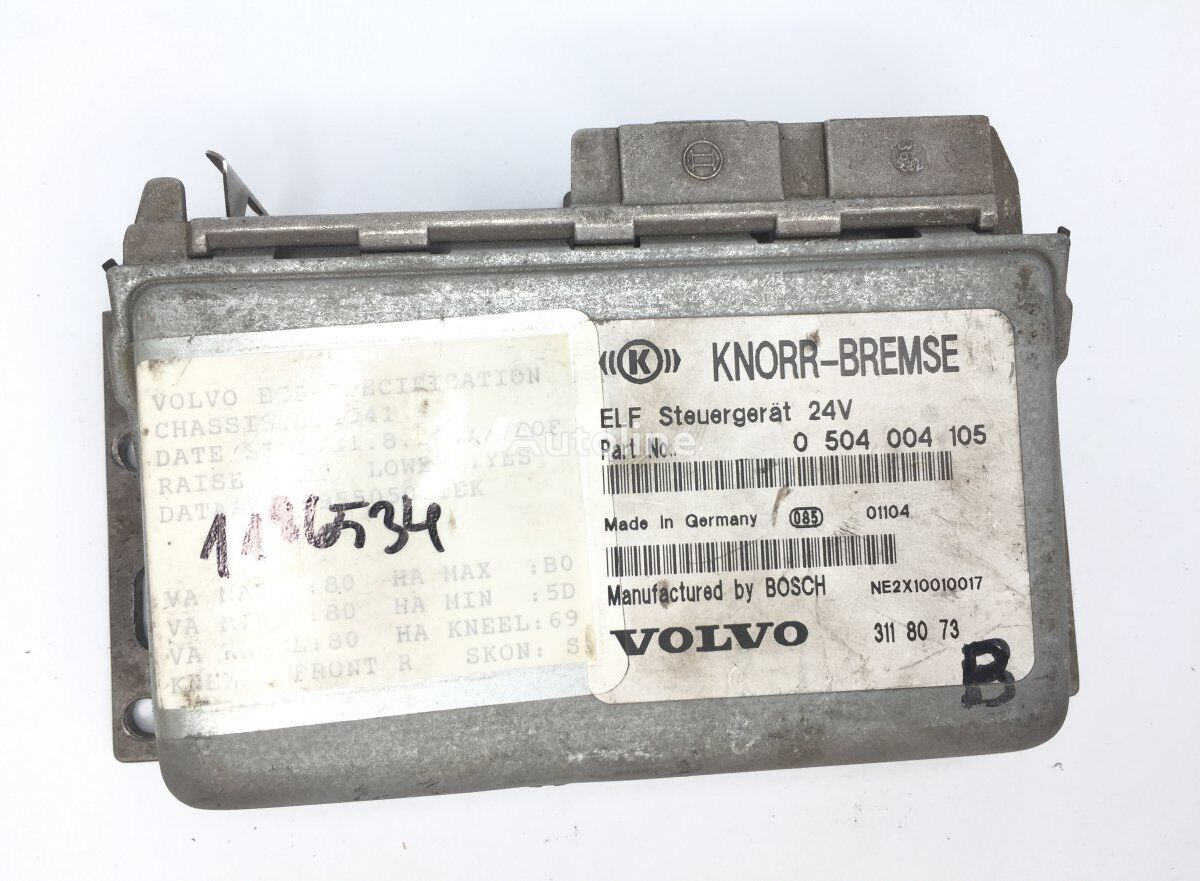 блок управления KNORR-BREMSE B10M (01.78-12.03) (489555) для автобуса VOLVO B6/B7/B9/B10/B12/8500/8700/9700/9900 bus (1995-)