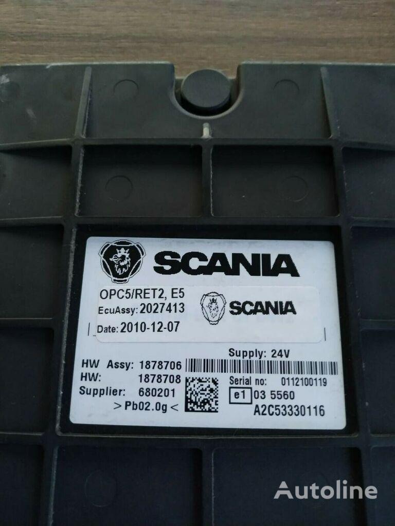 блок управления SCANIA OPC5 / RET2 для тягача SCANIA