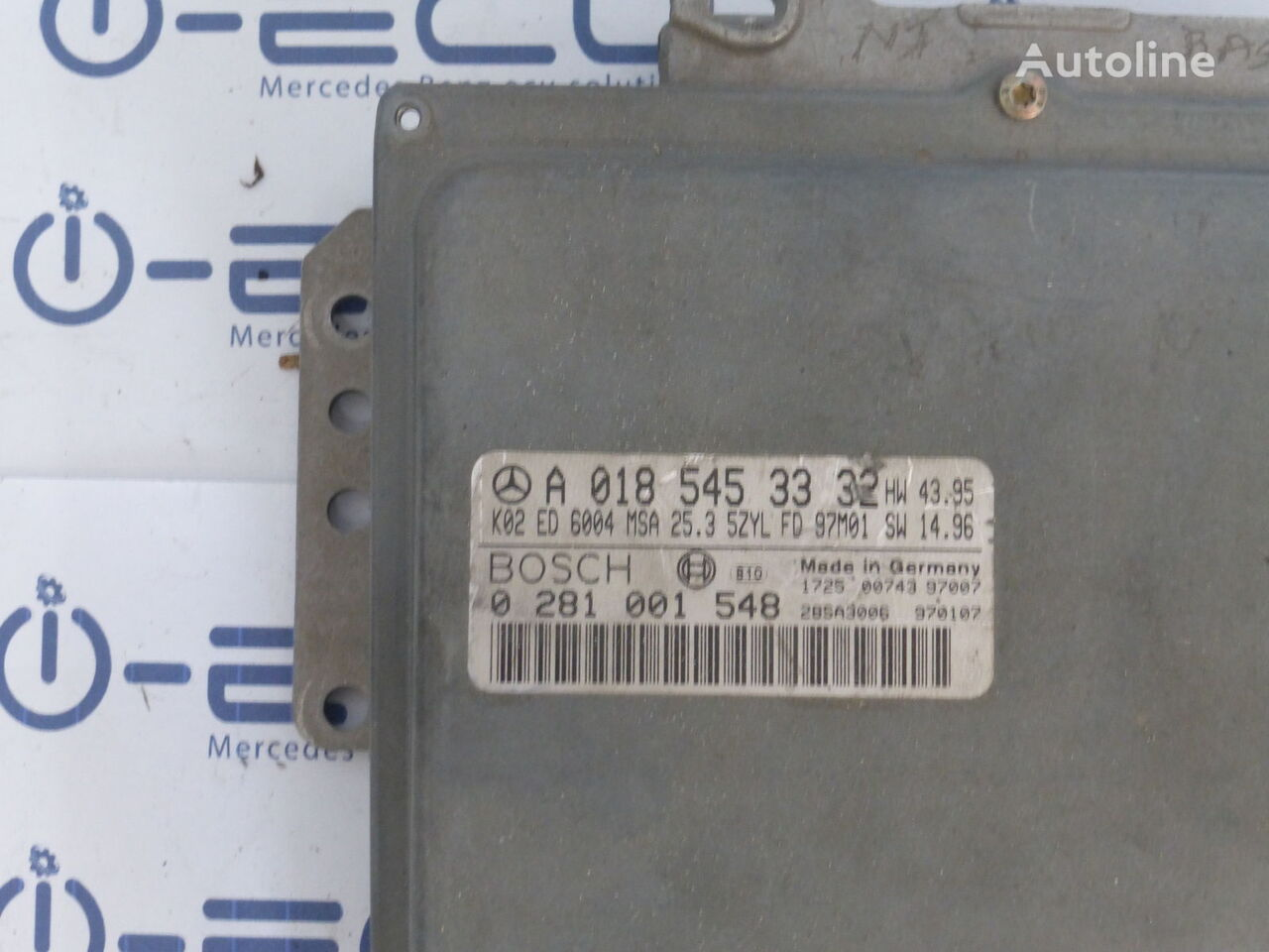 блок управления BOSCH (CDI A 0185453332) для автомобиля MERCEDES-BENZ SPRINTER 906