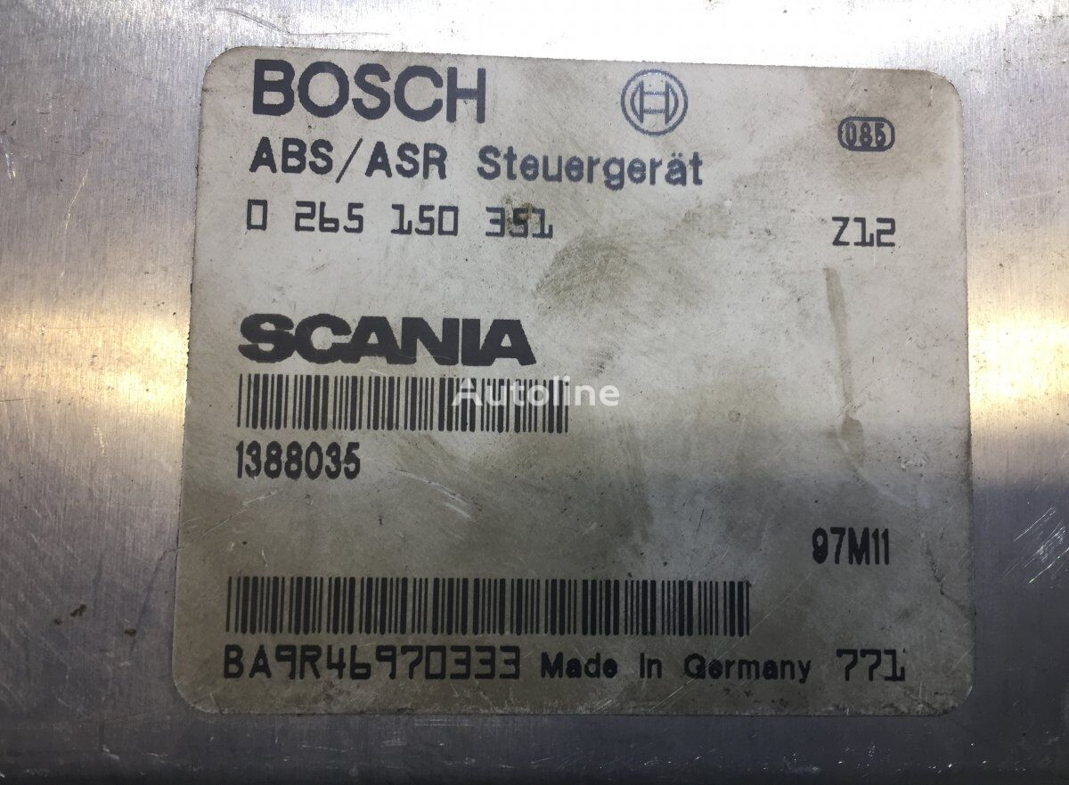 блок управления BOSCH ABS для грузовика SCANIA 4-series 94/114/124/144/164 (1995-2004)