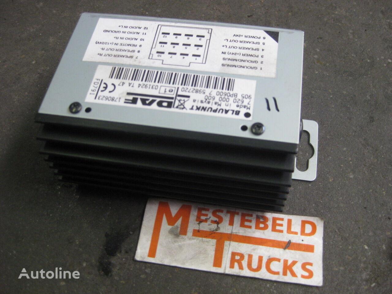 блок управления DAF audioversterker для грузовика DAF CF-XF105