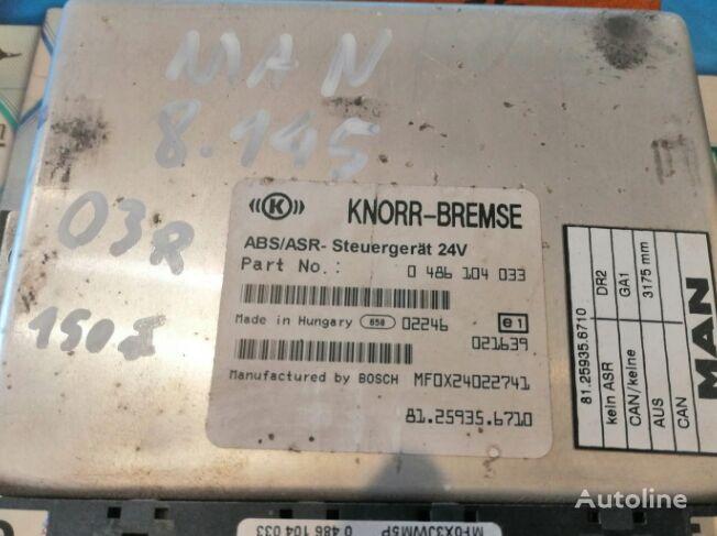 блок управления KNORR-BREMSE DR2 (DR2, 0486104033) для тягача MAN