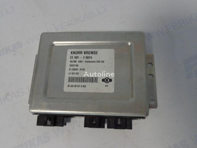 блок управления MAN ABS Elektronik 81259356728