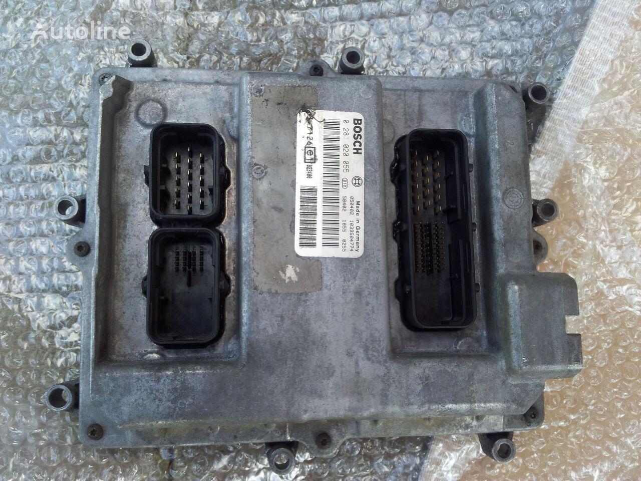 блок управления MAN Common Rail EDC, ECU electronic diesel control 0281020055, D2066 для тягача MAN TGA