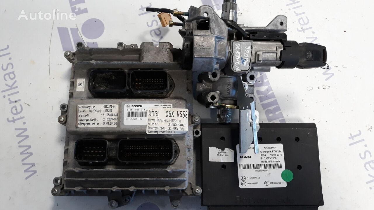 блок управления D2676 EURO 6 ECU set , ignition with key для тягача MAN TGX