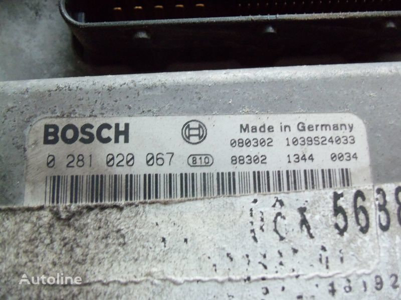 блок управления MAN EDC 480PS D2676LF05 ECU BOSH 0281020067 EURO4, 51258037564, 5125 для тягача MAN TGX