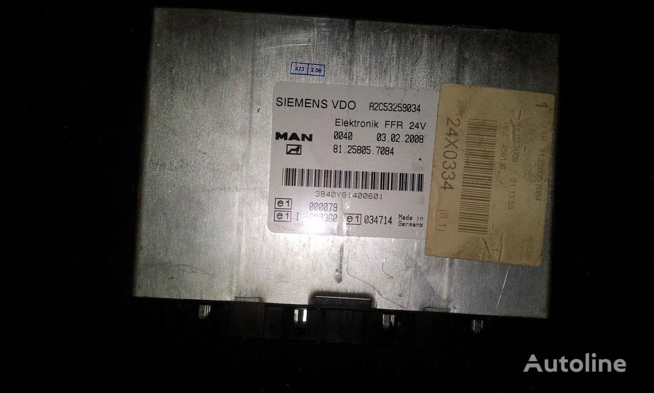 блок управления MAN FFR control unit, ECU, 81258057084, Siemens VDO, 81258057084, 81 для тягача MAN TGX