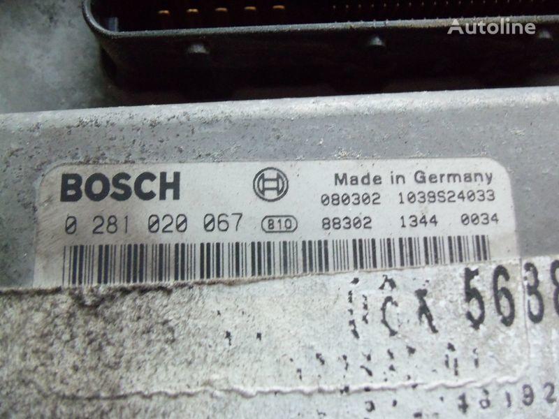 блок управления MAN TGA, , engine computer EDC 480PS D2676LF05 ECU BOSH 028102006 для тягача MAN TGX