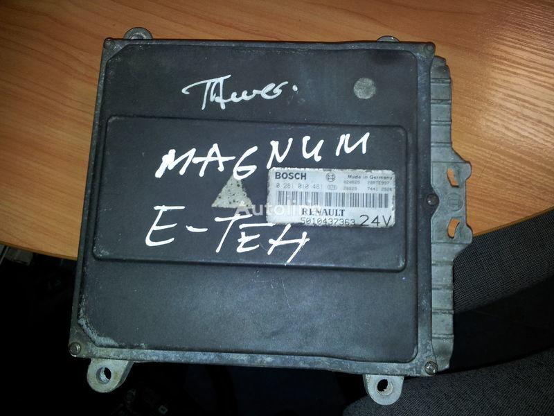 блок управления RENAULT engine computer EDC, ECU, 5010437363, BOSCH 0281010481 для тягача RENAULT Magnum E-TECH