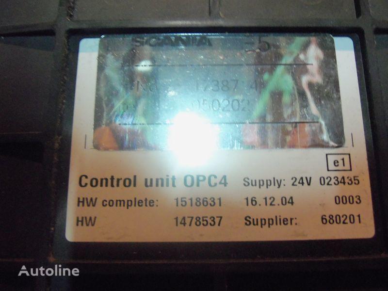блок управления SCANIA OPC4 Control unit 1731140, 1750167, 17514664, 1754669, для тягача SCANIA R series
