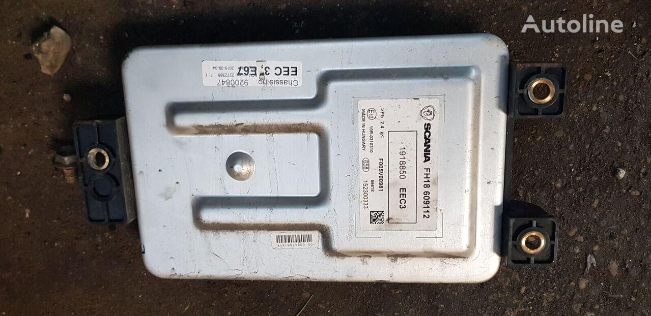 блок управления SCANIA T, P, G, R, L series XPI EURO6 EEC3 con2272388, 1918850, 2124258 для тягача SCANIA R, P, G, L series XPI EURO6 EEC3