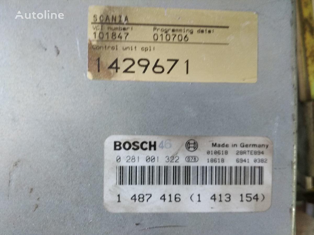 блок управления SCANIA мотором Bosch (1429671) для автобуса SCANIA