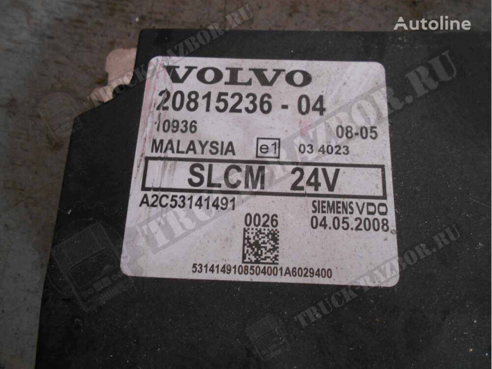 блок управления VOLVO блок LCM (20815236-04) для тягача