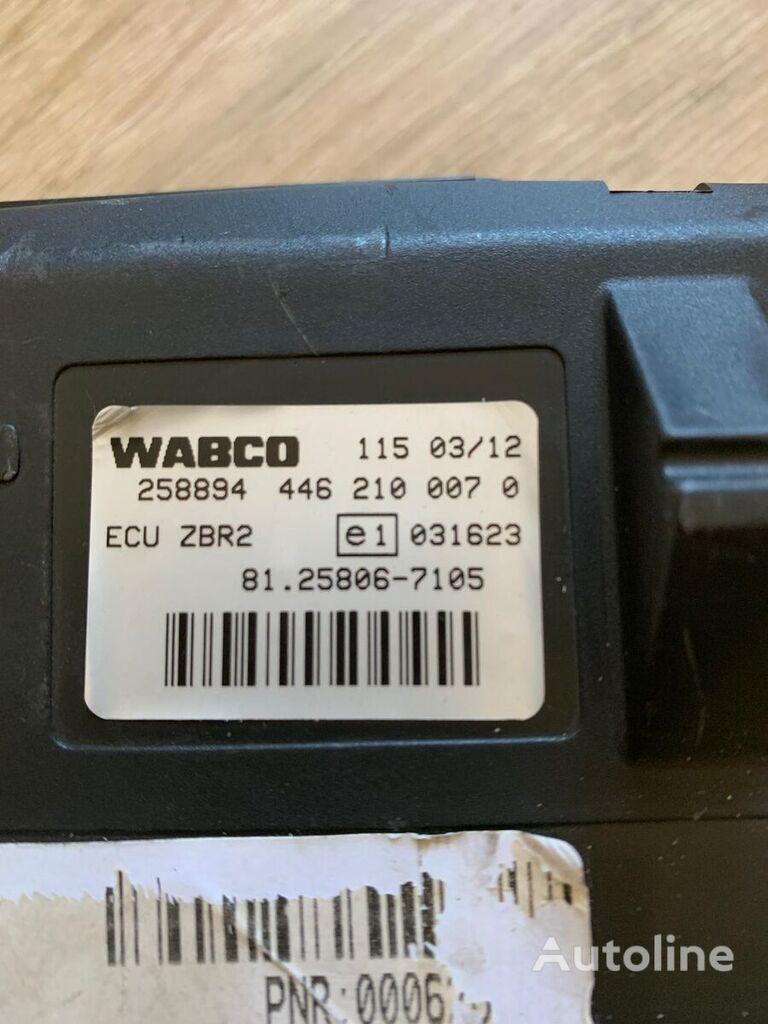 новый блок управления WABCO ECU ZBR2 (81.25806-7105) для грузовика MAN TGA TGS TGX