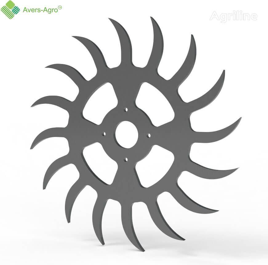 новый диск Колесо на ротационную борону цельное для бороны