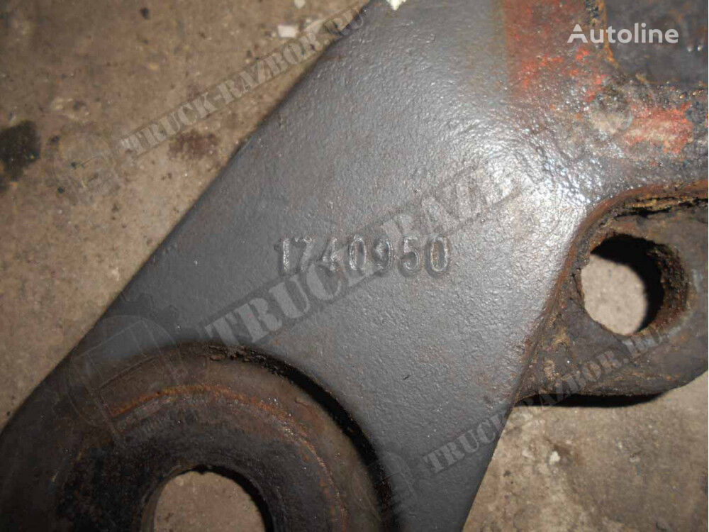 другая запчасть к ходовой опора переднего амортизатора нижняя, L (1740950) для тягача DAF