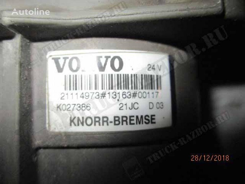 другая запчасть тормозной системы KNORR-BREMSE кран главный тормозной (21114973) для тягача VOLVO