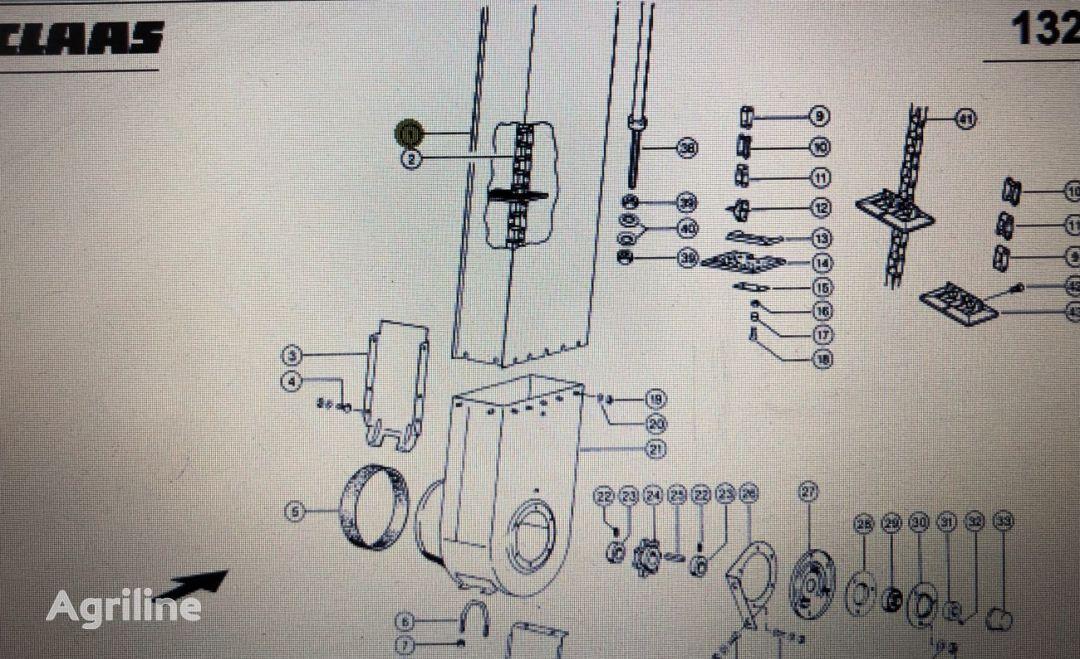 другие рабочие элементы Szyb для зерноуборочного комбайна CLAAS Mega 370-340