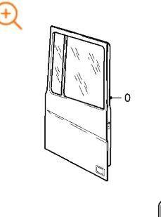 дверь для тягача DAF XF 105 FAS 105.460, FAR 105.460, FAN 105.460