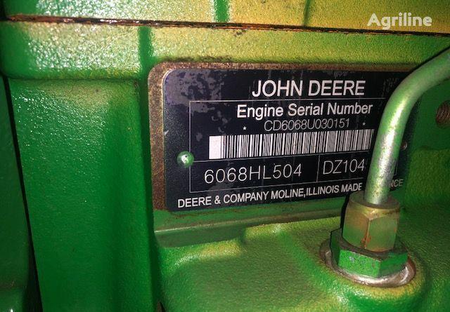 двигатель 6068hl504 для трактора JOHN DEERE