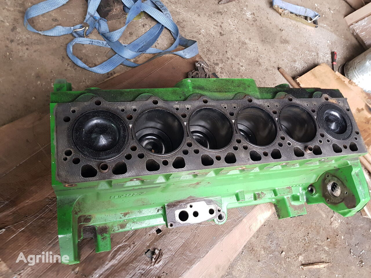 двигатель JOHN DEERE для зерноуборочного комбайна