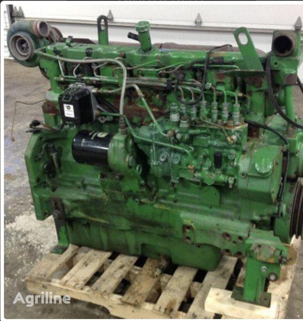 двигатель JOHN DEERE 6076 для зерноуборочного комбайна JOHN DEERE 9600
