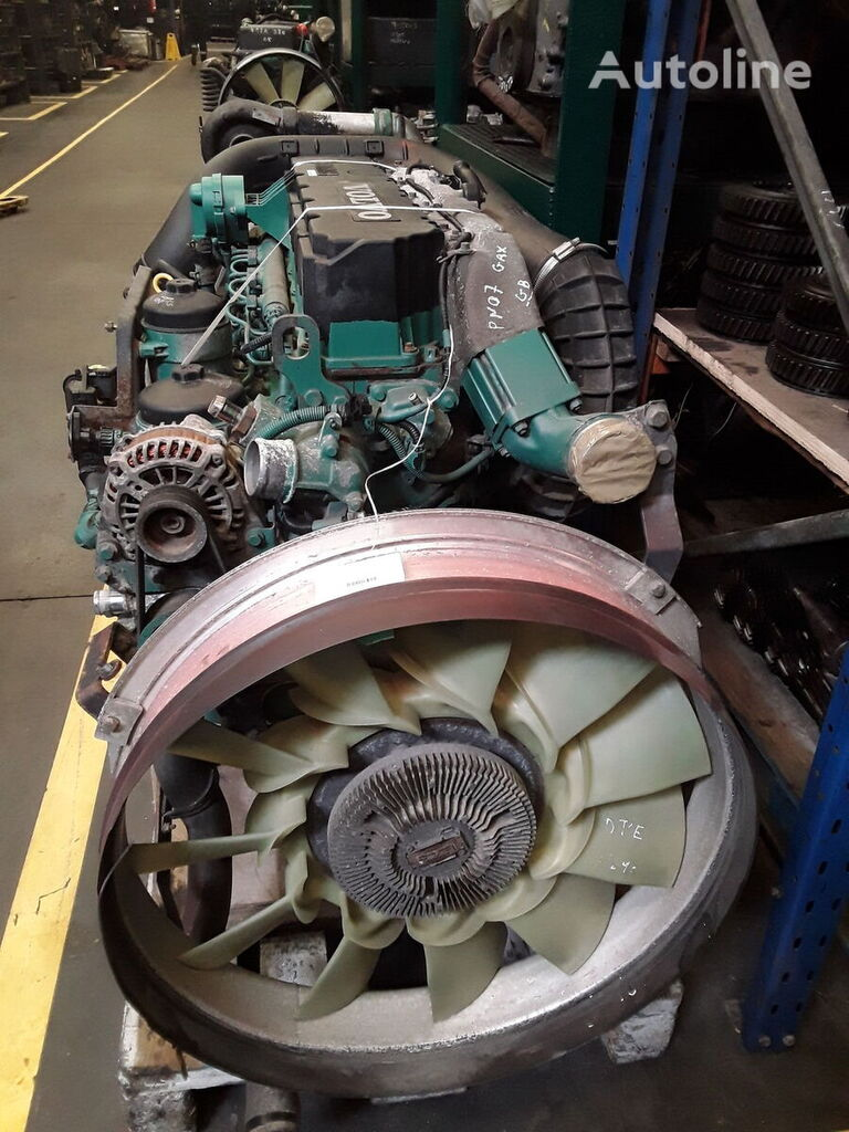 двигатель VOLVO D7E 240- EC06 для тягача