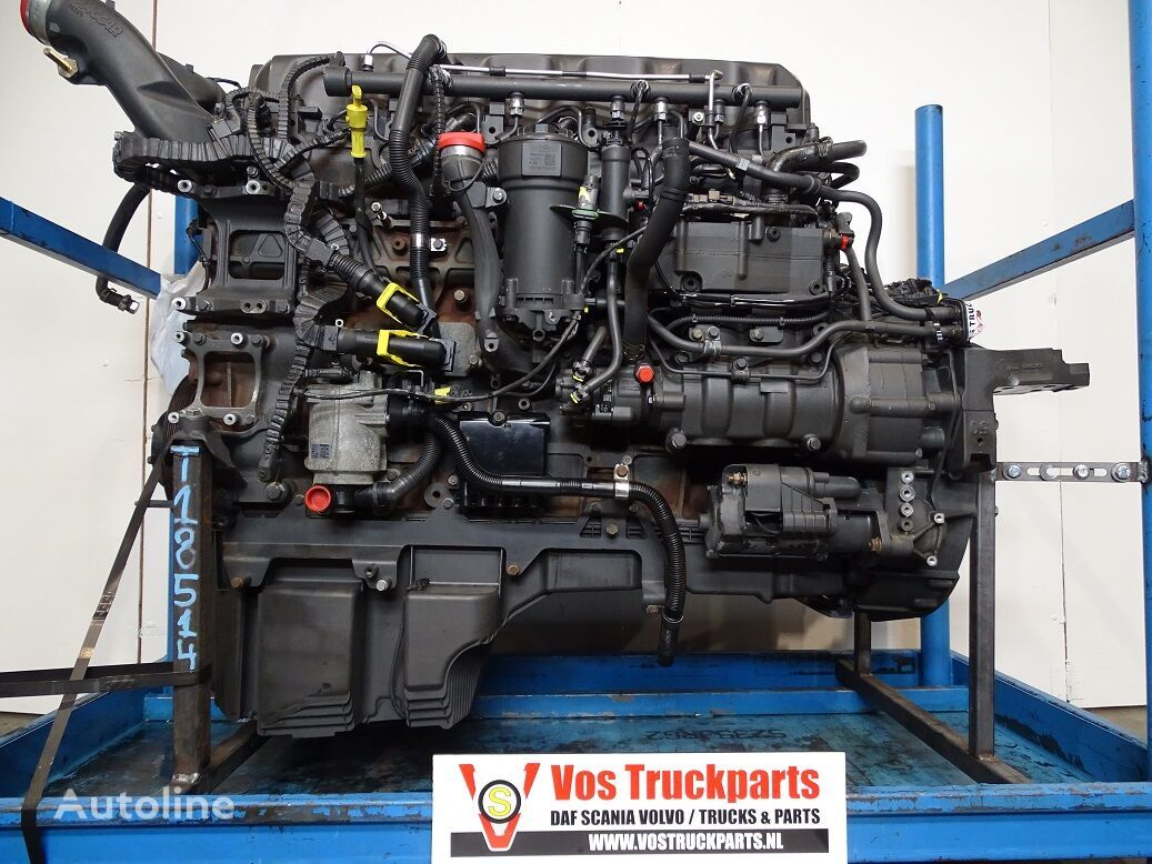 двигатель DAF MX-375-H1 510/EURO-6 для грузовика