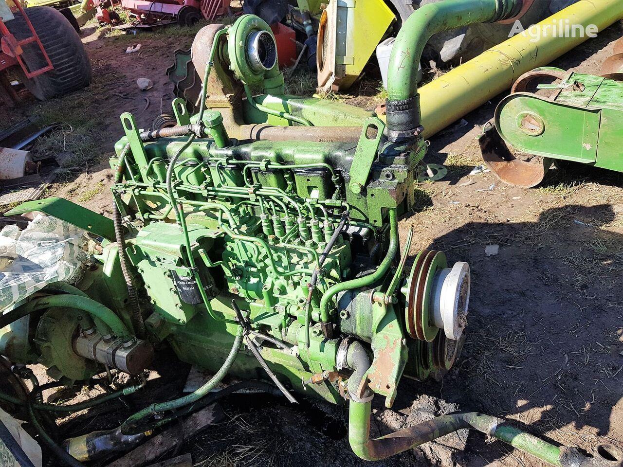 двигатель JOHN DEERE 6076 для зерноуборочного комбайна JOHN DEERE 2064
