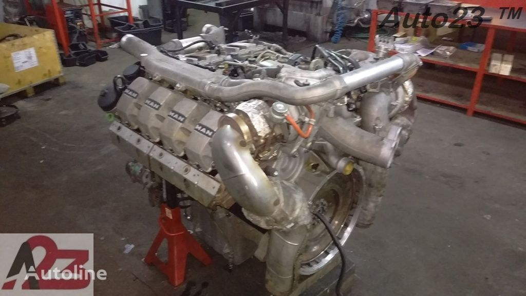 двигатель LIEBHERR V8 Euro5 680km MAN V8 для автокрана