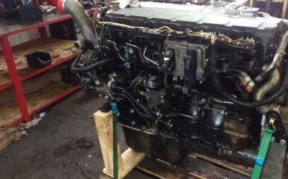 двигатель MAN D20 E4 D2066LF34 для тягача MAN TGA TGX