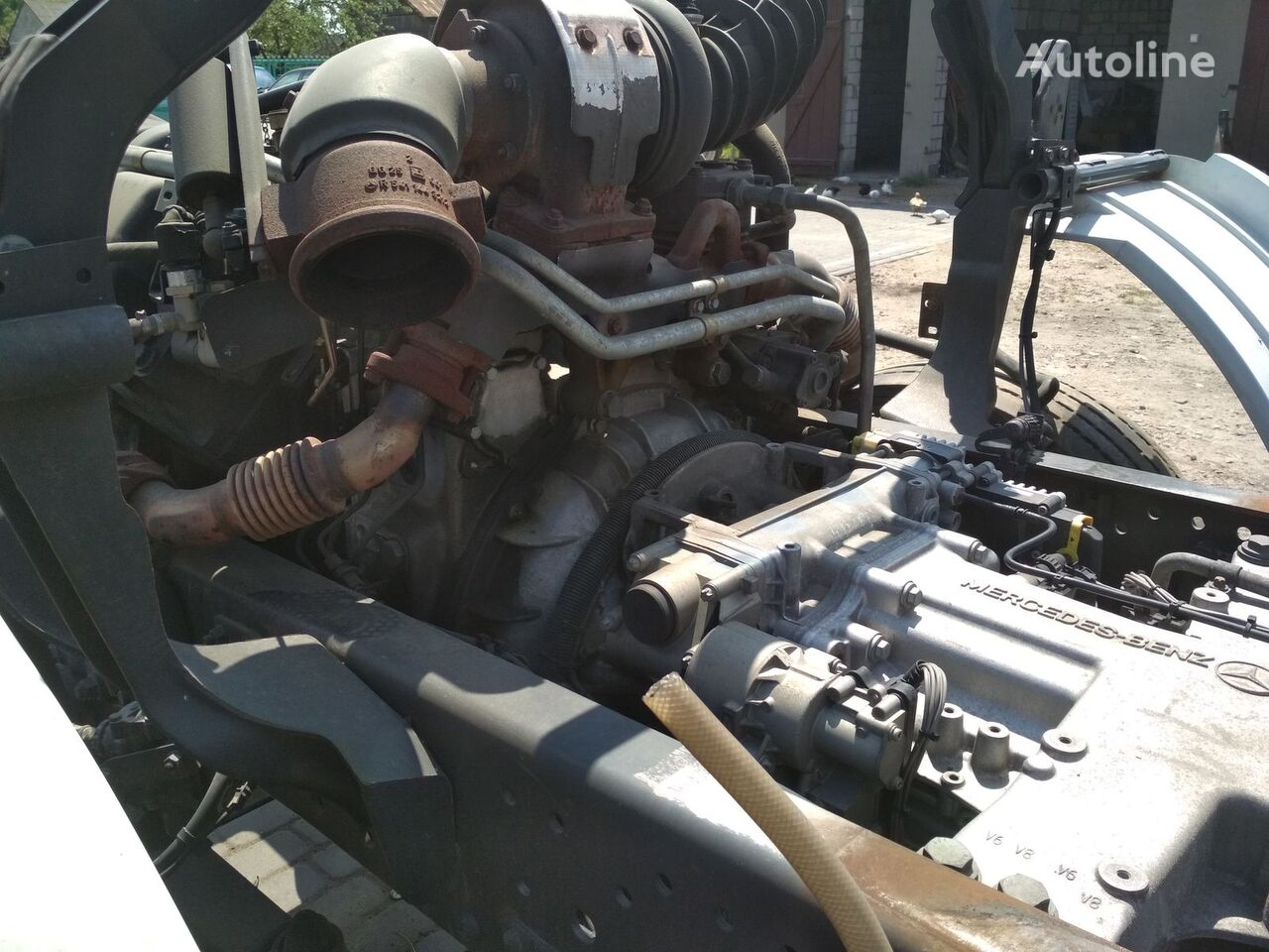 двигатель OM 501 для тягача MERCEDES-BENZ Actros