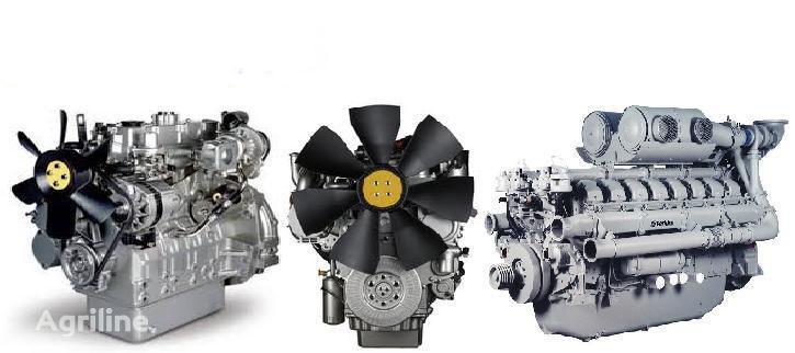 двигатель PERKINS для трактора по запчастям