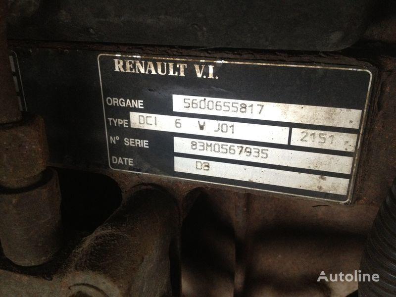 двигатель RENAULT dci 6v j01 для грузовика RENAULT 220.250.270