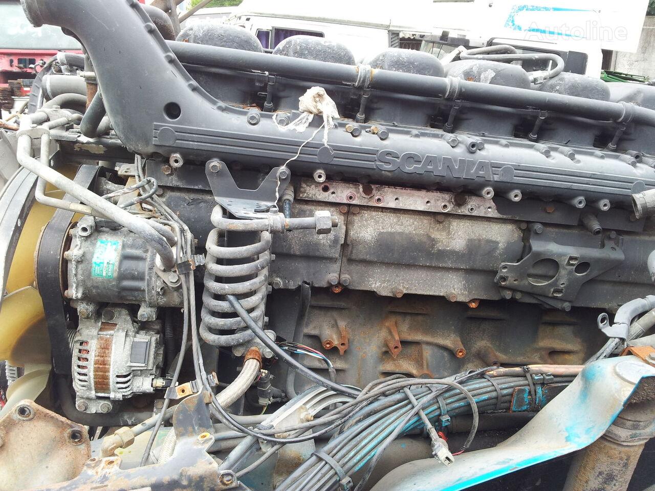 двигатель SCANIA 4 series engine 164C, 164G, 164L, P580, R580, DC1601, 580 PS, v8 для тягача SCANIA 164C, 164G, 164L, P580, R580, DC1601