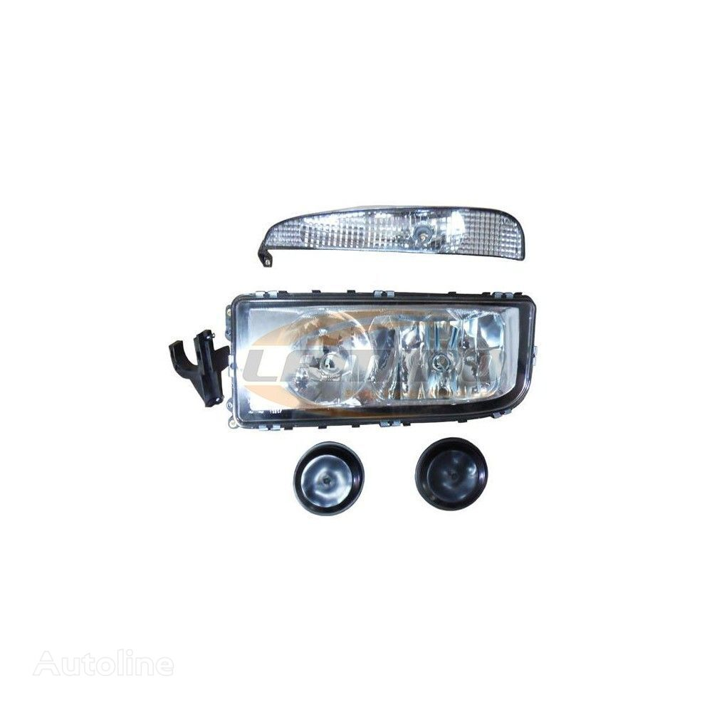 новая фара MERC AXOR II - HEADLAMP LH WITH BLINKER для грузовика MERCEDES-BENZ AXOR MP2 / MP3 (2004-2012)