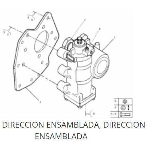 гидроусилитель Caja Direccion Asistida Renault Magnum E.TECH 480.18T (7422054900) для тягача RENAULT Magnum E.TECH 480.18T