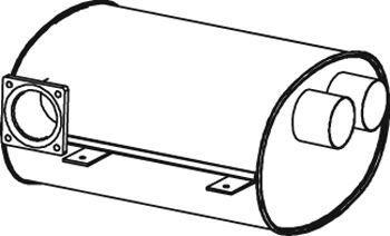 новый глушитель VAN HOOL T9 для автобуса VAN HOOL Acron, Alicron