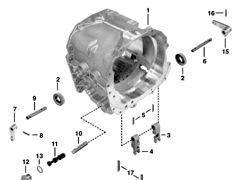 КПП JOHN DEERE - r134710 - Obudowa Power Quad для трактора JOHN DEERE 6800