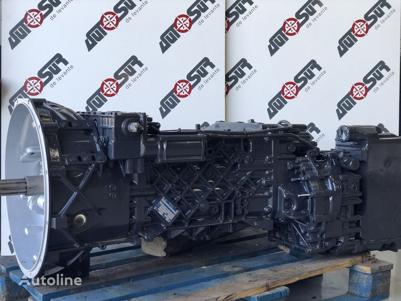 КПП ZF 1341050017 (41288878) для грузовика