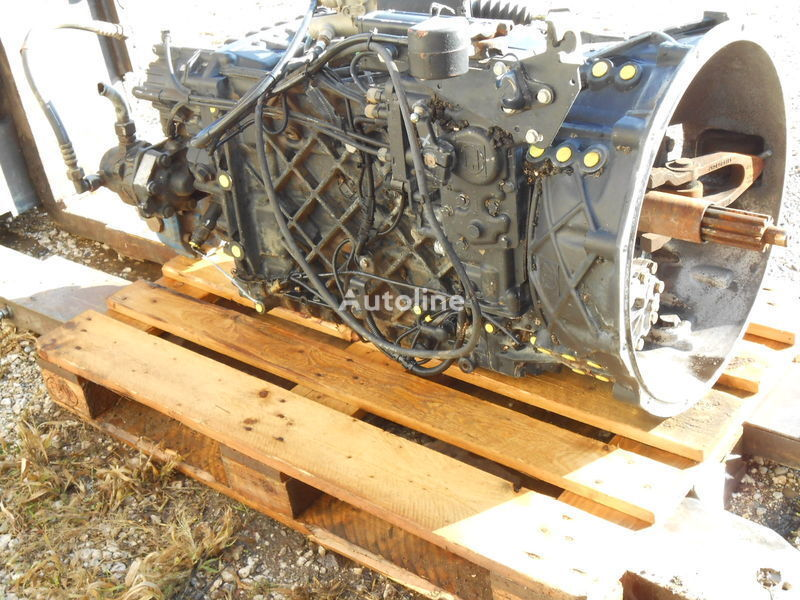 КПП ZF 16S2520 TO Für FZ übers. 13,80-0,84 Part List 1343 002 001 Custo для грузовика MAN Kipper-Mixer FZ SZM