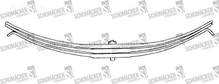 новая листовая рессора ROR (Nr OE: 21204921) для полуприцепа