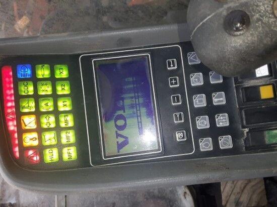 монитор для экскаватора VOLVO EC340