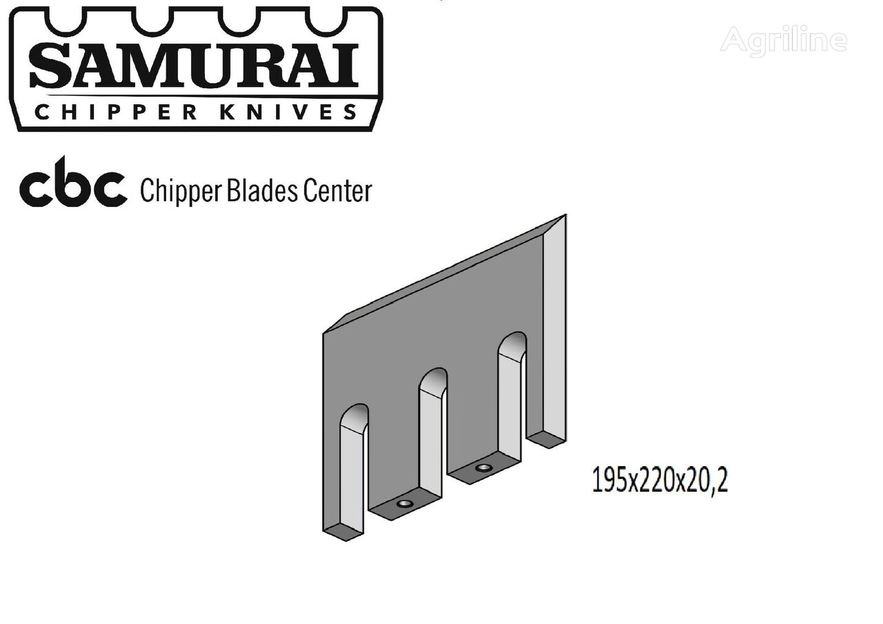 нож Doppstadt DH для дробилки древесины Doppstadt Dh