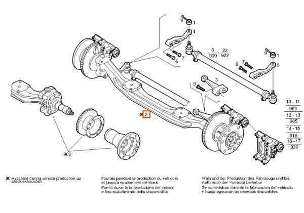 ось Eje Delantero Completo для грузовика IVECO Stralis AS 440S54