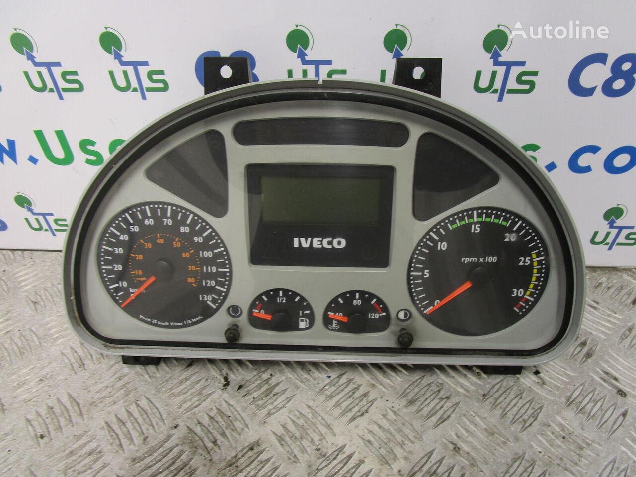 панель приборов IVECO TECTOR CLOCK CLUSTER P/NO (504025357) для грузовика IVECO