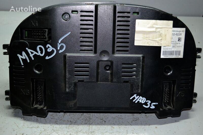 панель приборов для грузовика MAN TGX (2007-)