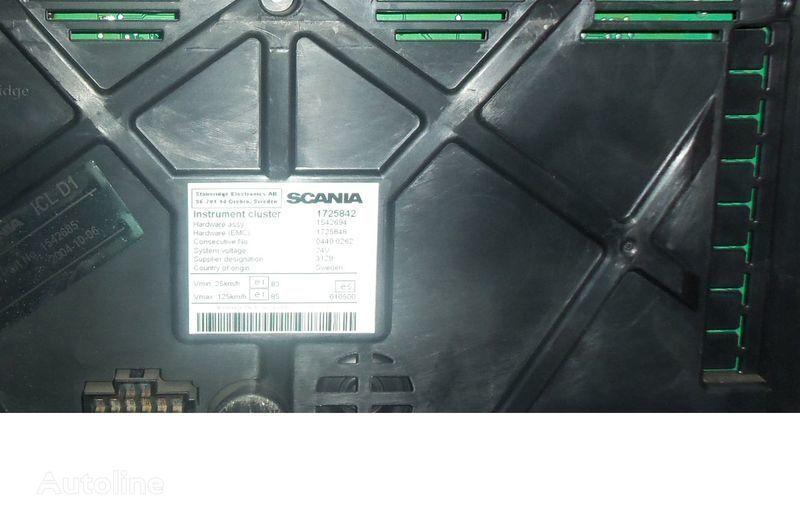 панель приборов SCANIA R, P, G, T, L series, XPI, PDE, EURO5, EURO6 instrument panel, d для тягача SCANIA R